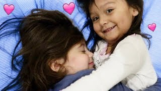 THE CUTEST TODDLER SLEEPOVER EVER!!!