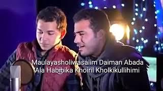 Gambar cover Lirik Medley Shalawat - Mohamed tarek & mohamed Youssef