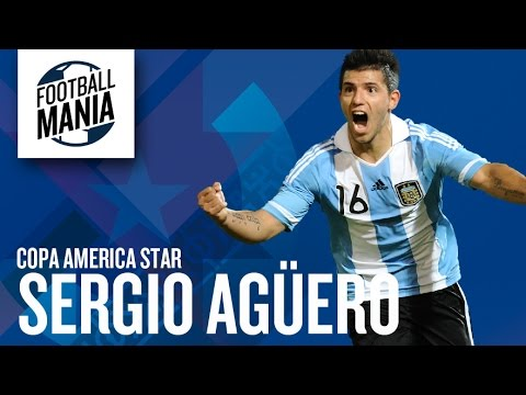 Man City Star Sergio Agüero Must See Goals in Copa America 2011