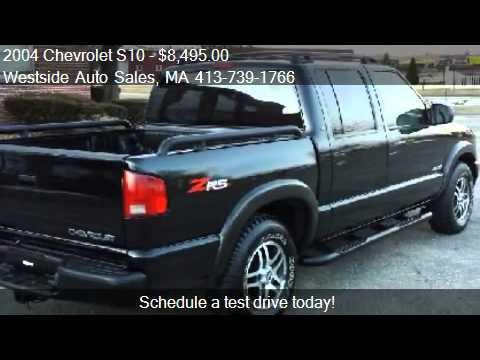 2004 chevrolet s10 crew cab 4wd zr5 for sale in west sprin youtube. Black Bedroom Furniture Sets. Home Design Ideas
