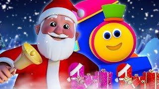 боб поезд   звяканье колокольчики   песни для детей   Jingle Bells Dance   Bob The Train Russia