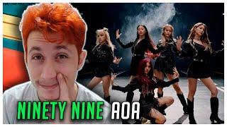 REAGINDO À AOA (에이오에이) - 'NINETY NINE' Lyrics [Color Coded_H…