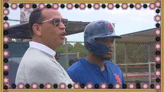 "Alex Rodriguez ""Meets the Mets"" at spring training in Port St. Lucie"