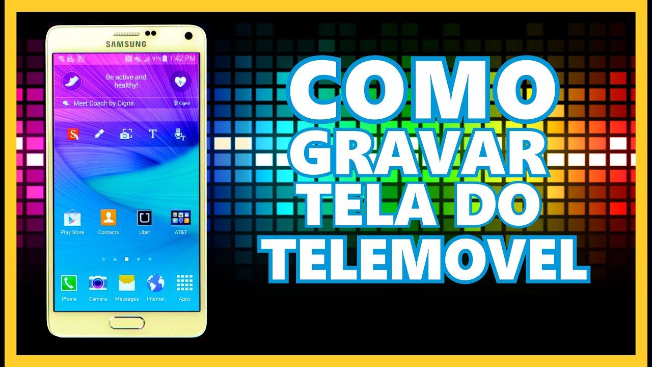Como Gravar Tela De Telemvel PT Angola YouTube