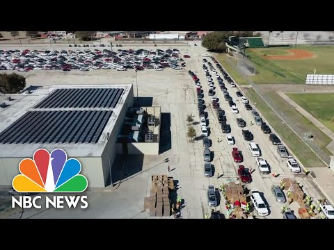 Texas Was Less Than 5 Minutes From Statewide Blackout During Storms | NBC Nightly News