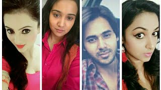 Behind the scenes off screen collection of Yeh un dino ki baat hai serial star cast...
