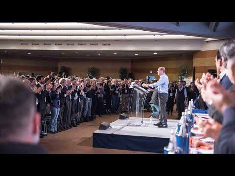 Zingaretti al congresso 2019
