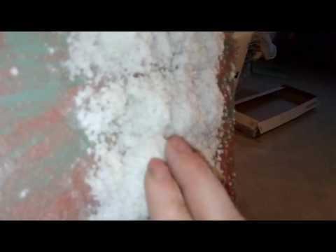 Соляная комната своими руками. Нанесение соли на стену, создание соляного покрытия на стене