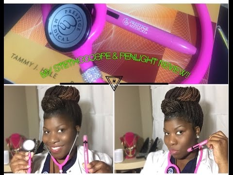 My Stethoscope & Penlight Review!!