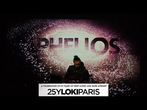 PHELIOS live in Paris Dark Ambient Concert 2016