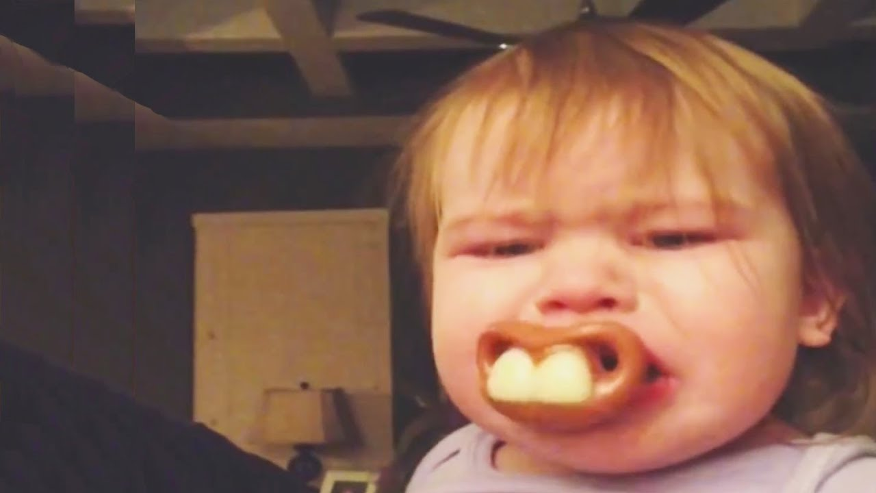 I NEVER met such an ADORABLE Baby with FUNNIEST Pacifier - Funny Baby Videos