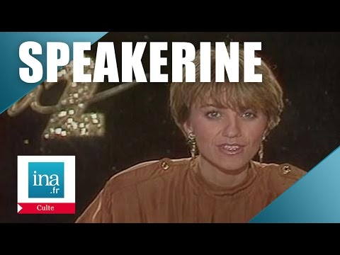 Speakerine 1987 Valérie Maurice   Archive INA