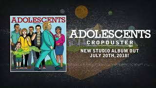 Adolescents - Flat Earth Stomp (Album Track) - Concrete Jungle Records