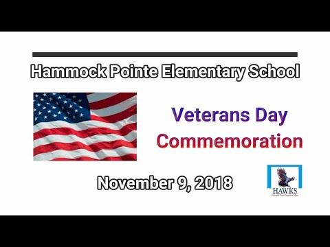 2018 - Hammock Pointe Elementary School, Veterans Day Celebration, November 9, 2018 FAB03031950