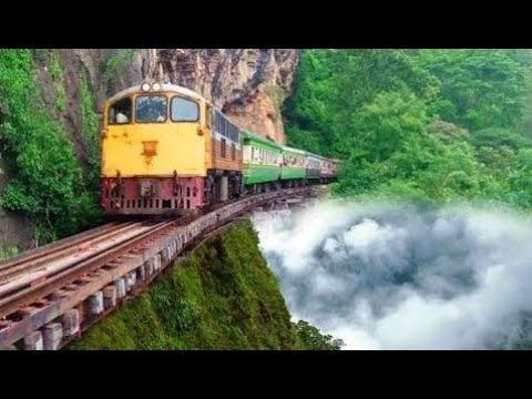 The 10 MOST DANGEROUS and EXTREME RAILWAYS in the World!! Compilation of Incredible Train Journeys