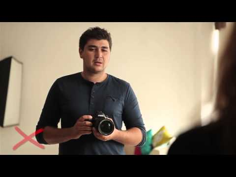 №5 Как фотографировать людей  10 ошибок и решений!