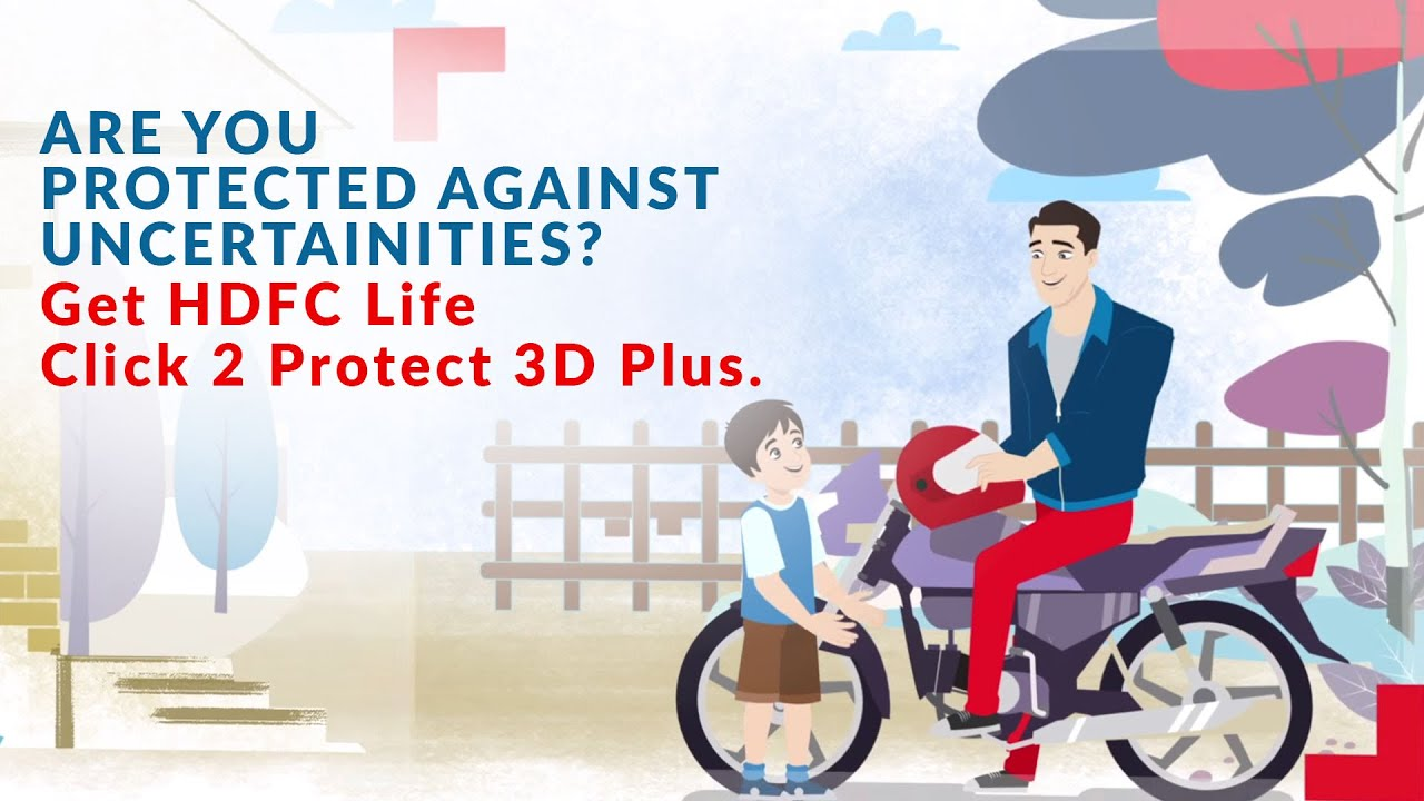 Best Assured Insurance Plan from HDFC Life: Click 2 Protect 3D Plus
