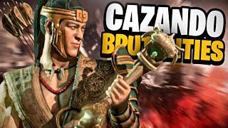 🤯 ¿Los MEJORES BRUTAL|T|ES del Juego? || CAZANDO BRUTAL|T|ES  ... (INCREIBLE) - Mortal Kombat X
