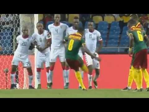 Le super but de Benjamin Moukandjo face au Cameroon lors de can 2017 14-01-2017
