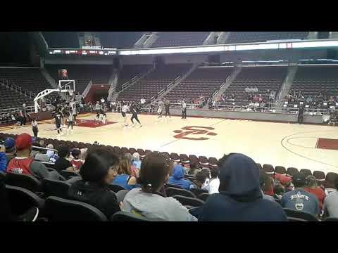 LA Clippers Open Practice scrimmage at USC's Galen Center, 10/10/17 (part 3/3)