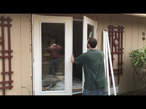 Room Remodeling - Step 2: French Door Installation