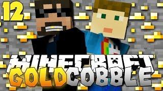 Minecraft: GOLD COBBLESTONE MODPACK | The Frozen Fart!! [12]