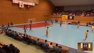 2019年IH ハンドボール 男子 準決勝 香川中央(香川)VS 興南(沖縄)