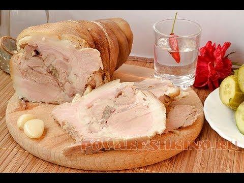 как вкусно сварить рульку свиную в кастрюле