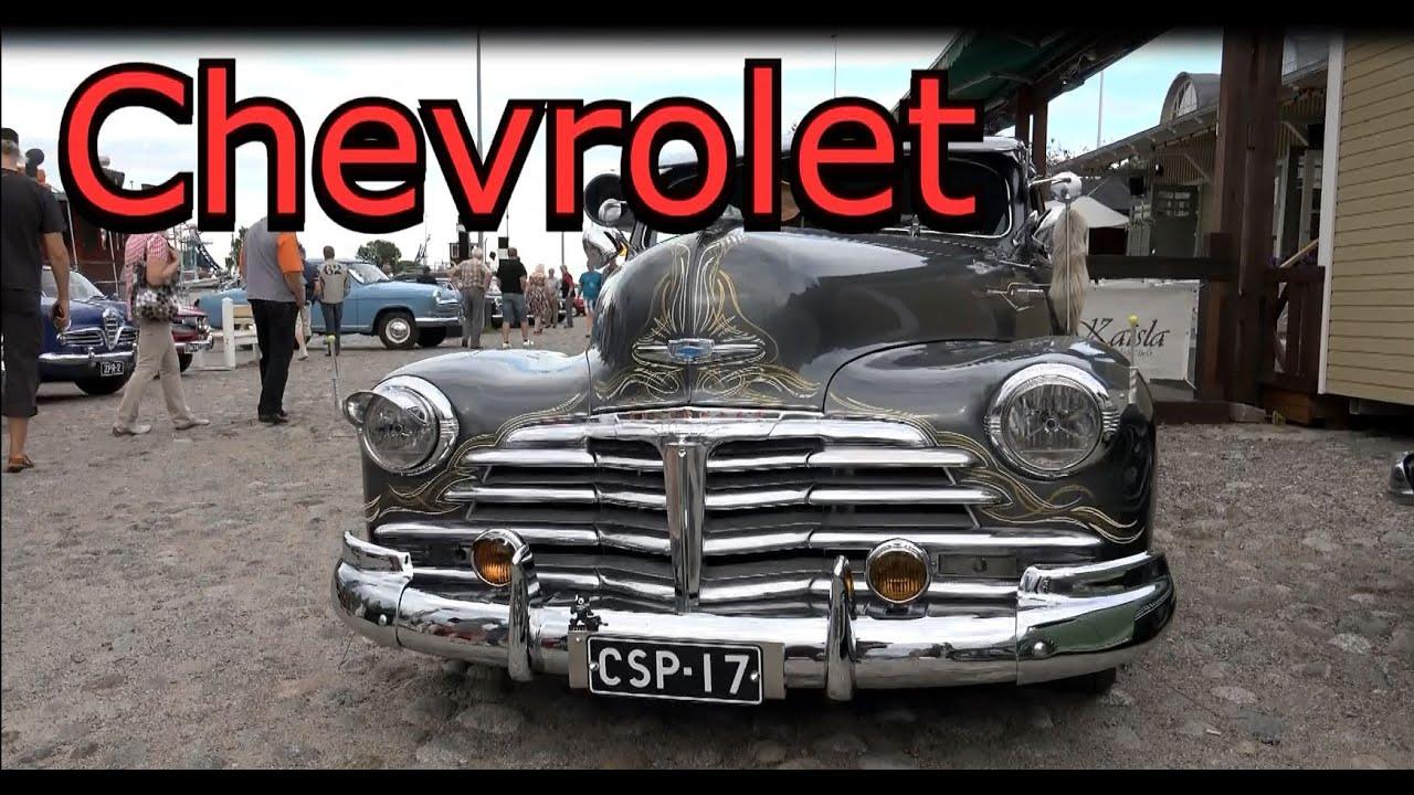 Chevrolet Fleetline- V8 engine Old Classic Monster Car - YouTube