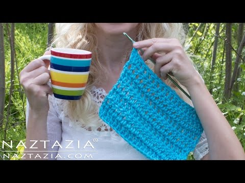 Learn How to Crochet with Just One Hand – One Handed Challenge