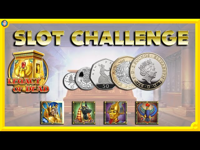 💰 LEGACY OF DEAD SLOT CHALLENGE!! 💰
