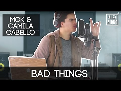 Thumbnail: Bad Things by MGK with Camila Cabello | Alex Aiono Cover