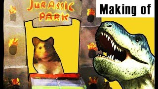 🐹Hamster Jurassic Park 🎬 Making of ♥ Cage Theme