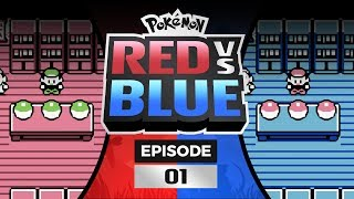 Pokemon Red and Blue Versus - EP01 | Let's Dew This