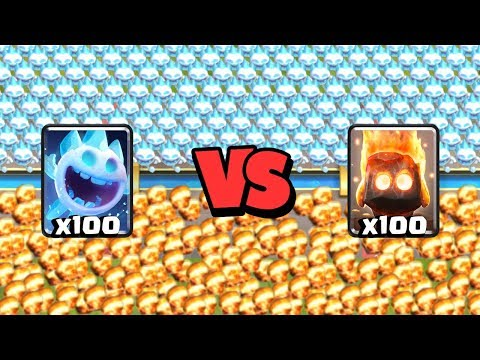 Ice Spirit Vs Fire Spirits | Clash Royale Super Challenge #2