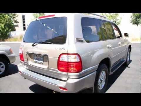 1999 Lexus LX 470 walk around Magnussen's Lexus of Fremont - YouTube