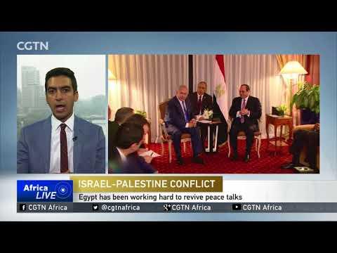 El-Sisi meets Netanyahu in New York for first public talks