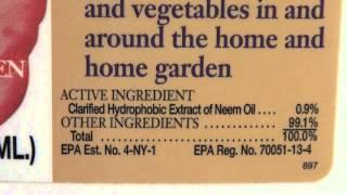 Read Pesticide Labels