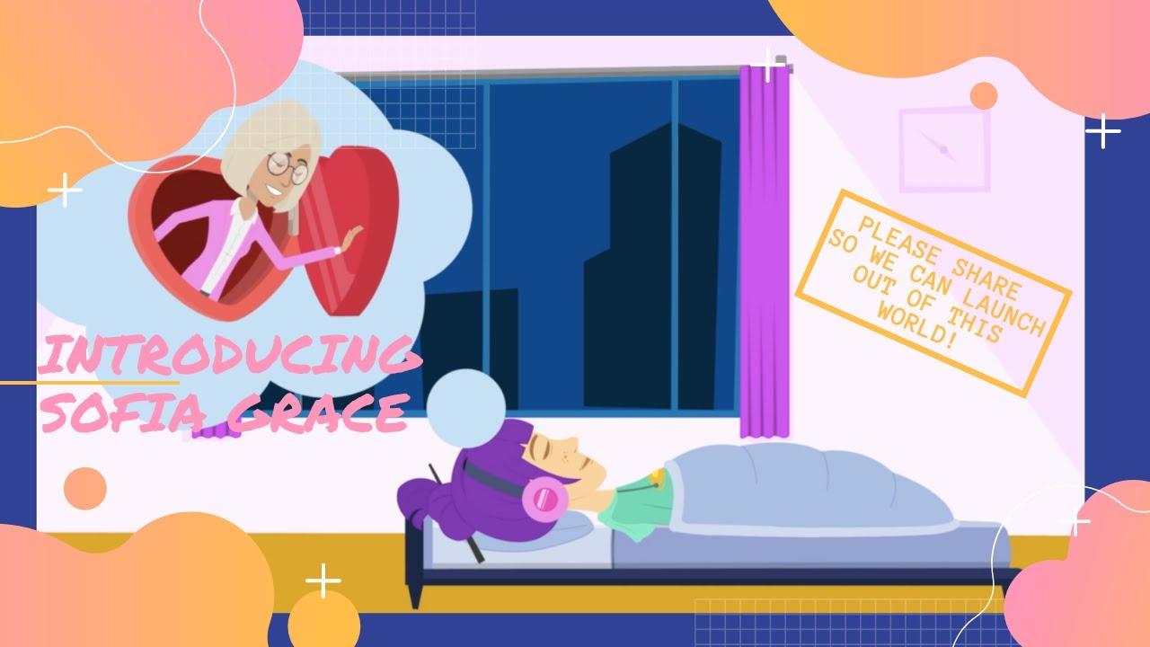 Pandemic Inspired Creativity with Sophia Grace Cartoon