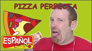Una Pizza Perfecta | Steve and Maggie Español Latino Cocinan | Español para Niños