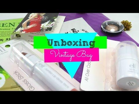 UNBOXING VINTAGE BAG (SUSCRIPCIÓN EN PANAMA)