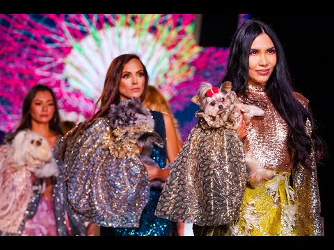 Anthony Rubio NYFW - Canines In Haute Couture For New York Fashion Week