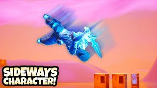Baixar How to get your *CHARACTER SIDEWAYS* in Season 8 (Fortnite Glitch)