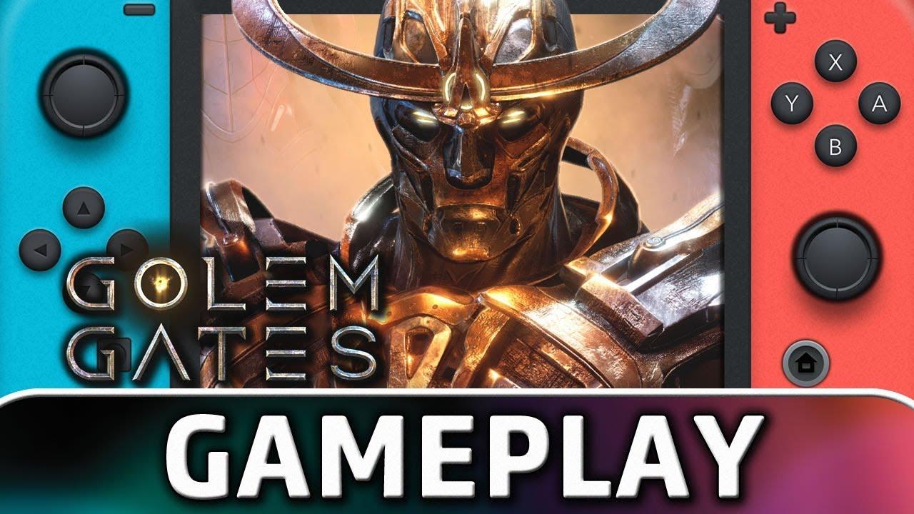Golem Gates | First 20 Minutes on Nintendo Switch