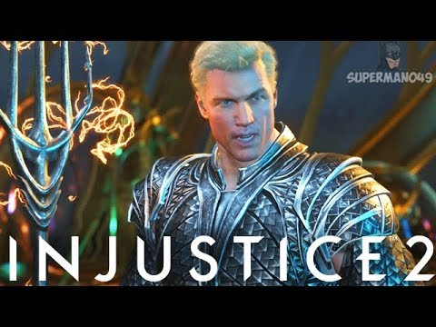 "The Best Looking JUSTICE LEAGUE Aquaman - Injustice 2 ""Aquaman"" Justice League Gear Gameplay"