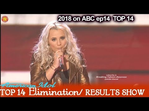 """Gabby Barrett sings """"Little Red Wagon"""" Victory Song Top 10  American Idol 2018 Top 14 Results Show"""