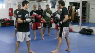 """Boxing-Kickboxing-MMA Head Movement to slip the jab – with UFC Fighter Jeff """"The Inferno"""" Joslin"""