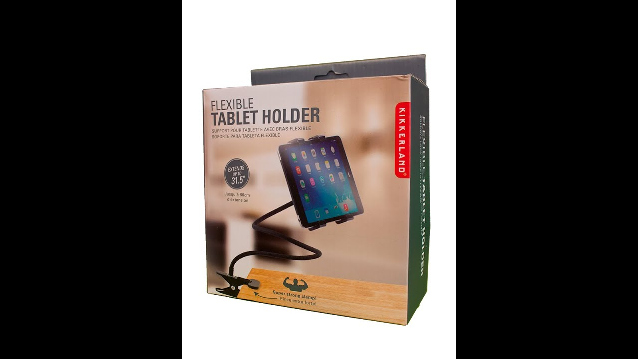 Micro Review Flexible Tablet Holder Youtube