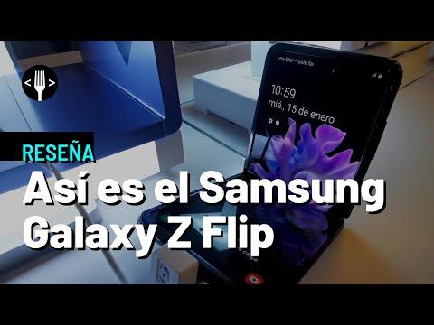 Así es el Samsung Galaxy Z Flip