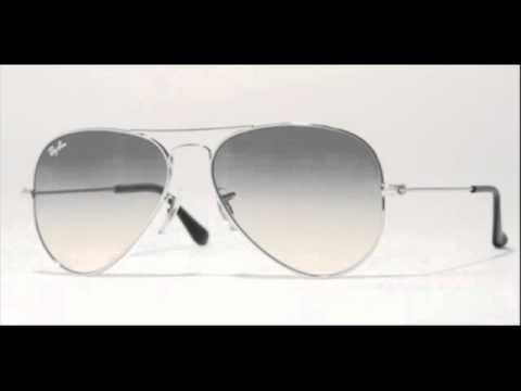 1174e48c33 Ray Ban Aviator Silver RB 3025 003 32 Sunglasses - YouTube